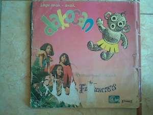 LP album Dakocan by Favourite group