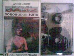 Album Borobudur Suite by Sapto Rahardjo-Andre Jaume