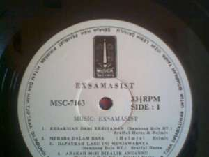 LP Examasist (Musica record)