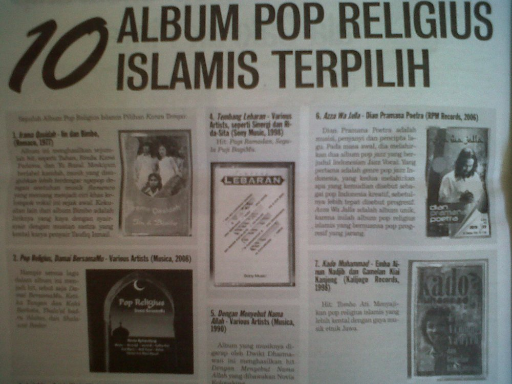 10 Best Indonesian Islamic Albums